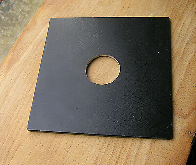 horseman Sinar F & P fit  lens board panel with copal 0 35.4mm hole