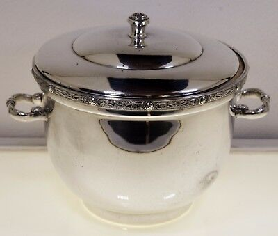A Stunning Quality Celtic Knots Silver Plated Ice Bucket by Asprey of London