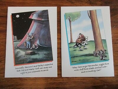 Vintage 1988 the far side birthday card infamous moments in jazz 2 vintage the far side birthday cards lot of 2 bookmarktalkfo Images