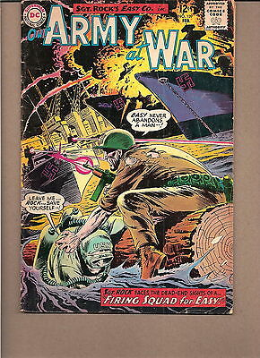 "Our Army At War  #139 1964  Dc  Vg  ""sgt. Rock's-Easy Co."" Kubert"