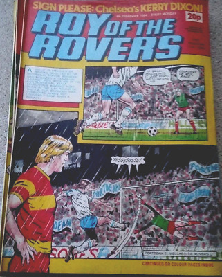 Roy of the Rovers 04th February 1984 Kerry Dixon