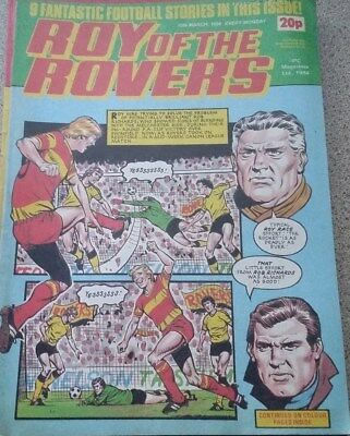 Roy of the Rovers 17th March 1984 Garry Birtles