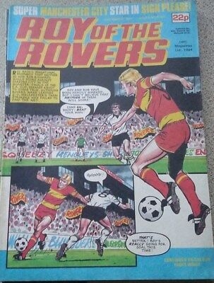 Roy of the Rovers 24th March 1984 Derek Parlane