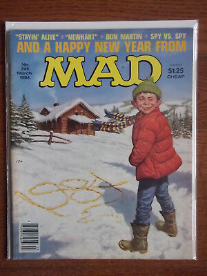 Mad magazine #245 March 1984 VG/FN