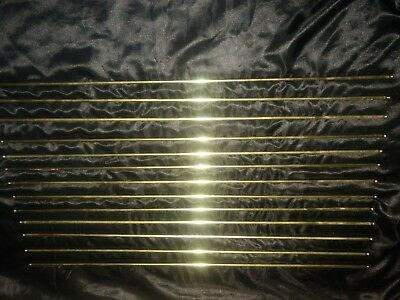 Vintage Brass French Cafe Curtain Rod