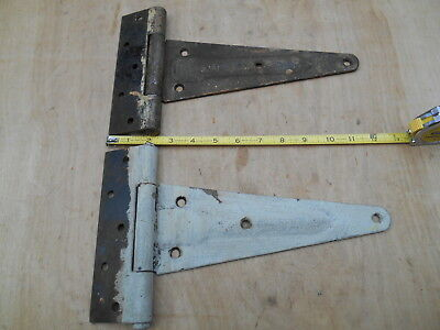 Vtg. Barn Door Strap Hinges , 1 Pair