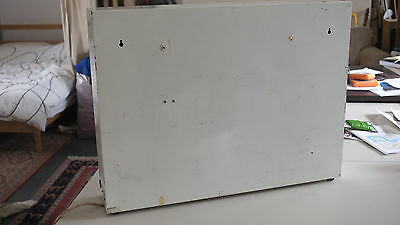 Vintage large hospital industrial X-ray light box. Working condition