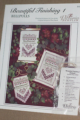 The Victoria Sampler - Beautiful Finishing 1 - Bellpull Leaflet & Acc Pack New