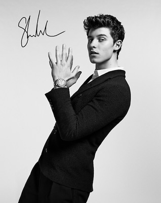 Shawn Mendes Signed Autographed Reprint 8X10 Color Photo Poster Music