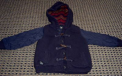 Abcd By Industrie Boys  Hooded Jacket With Toggles Sz  1