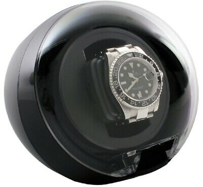 Versa Single Black Automatic Watch Winder Multiple Programs Model G077