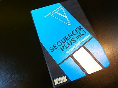 Voyetra Sequencer Plus Mk I (1) Software 16-Track Midi Recorder For Ibm/pc Nos