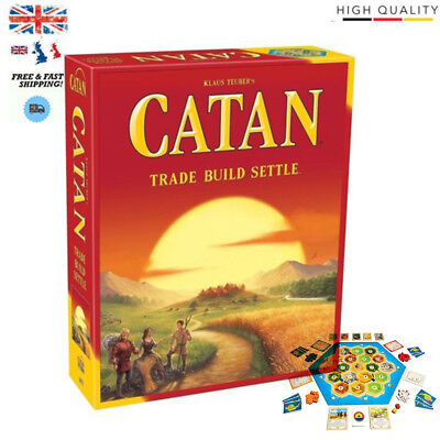 Catan Board Game (2015 Edition) Settlers Of Catan 3-4 Players Brand New Sealed