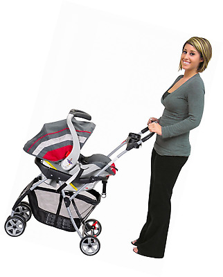 Infant Car Seat Baby Trend Snap N Go Universal Carrier Carriage Stroller Frame