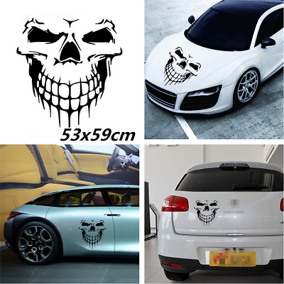 Skull Skeleton Autos Hood Decal Rear Vinyl Side Door Sticker For Car Window Roof