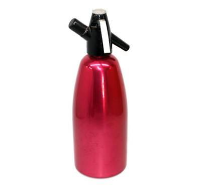 Vintage BOC Sparklets red anodised soda syphon in good condition.