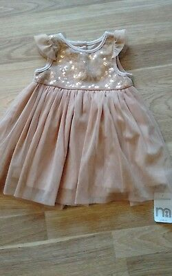 Mothercare baby girls Dress 6-9 months BNWT Free P&P