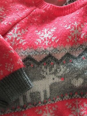 Next Christmas Jumper 12-18 Months