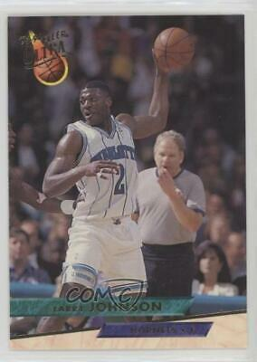 1995 96 Fleer Ultra 21 Larry Johnson Charlotte Hornets Basketball