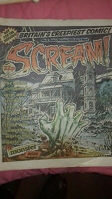 Scream Comic No 6, 1984