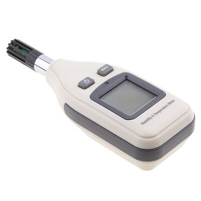Digital LCD Temperature Humidity Tester Detector For Industrial Laboratory