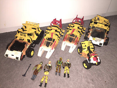 G.I. JOE Vehicle and Figures TIGER FORCE Collection