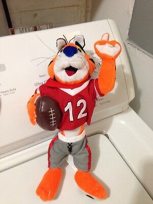 """Team Tony the Tiger Frosted Flakes 2003 11"""" Plush"""