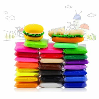 DIY Modeling Dough 24 Colors Ultra Light Modeling Clay Air Dry Clay Magic Clay