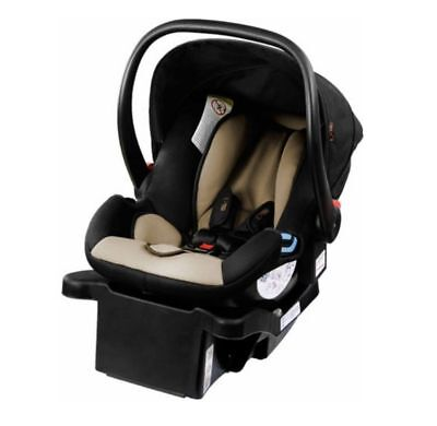 Mountain Buggy Protect Infant Baby Car Seat with Latch Base in Black / Stone NEW