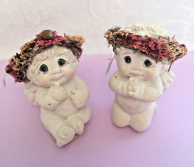 DREAMCICLES  Angel FIGURINES , a Set of 2 HOME DECOR COLLECTIBLES