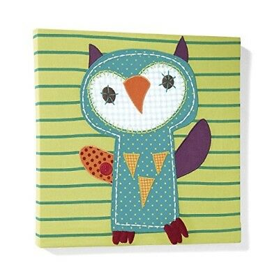 Brand new mamas and papas timbuktales canvas owl picture