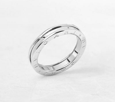 31010dc452d47 BULGARI 18K WHITE Gold 1 Band B.zero 1 Ring Size X Com1080 - EUR 768 ...