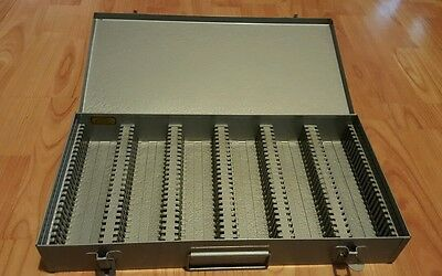 Vintage metal storage case 35MM slides