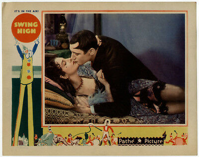 Vintage Pre-Code Musical Swing High 1930 Original Lobby Card Advertisement