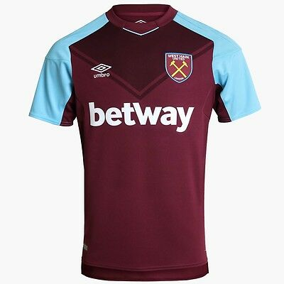 Brand New West Ham Home Shirt 2017/18 - Adults - Hammers - Premier league