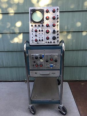Tektronix Type 545A Oscilloscope With Type 500A Scope-Mobile Cart