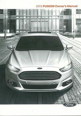 2013 ford fusion owners manual user guide reference operator book rh picclick co uk 2014 ford fusion owners manual pdf 2013 ford fusion owner's manual