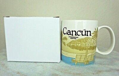 STARBUCKS Cancun City Series Icon Mug Brand New in Box Authentic, Ready to Ship