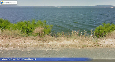 Invest in Lake View Land!  Clear Lake Property.  True Auction with No Reserve!