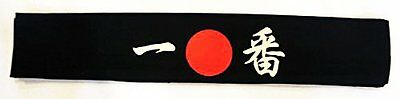 "Black Sushi Headband ""Number One"""
