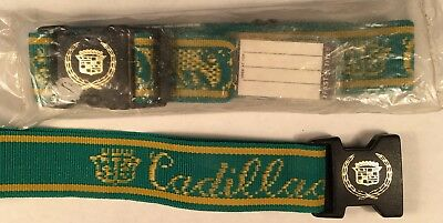 Cadillac Luggage Straps 1970's NEW