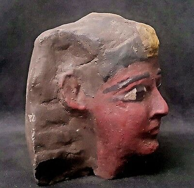 Rare Ancient Egyptian Ramesses II  stone   ((1300to1069 BC))