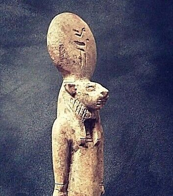 Rare Ancient Egyptian great statue of SEKHMET (1500-1000 BC))