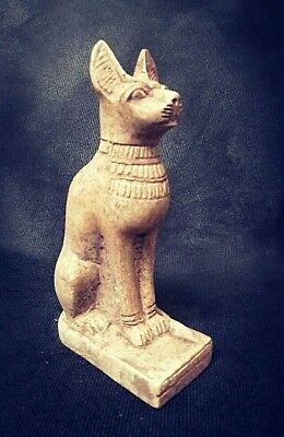 Rare Ancient Egyptian great Cat statue (1500-1000 BC))