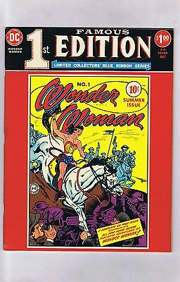 Famous First Edition F-6 WONDER WOMAN #1 (Pretty-Sharp!) 1975 Treasury (c#15262)