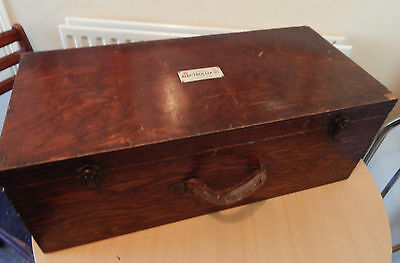 Rare 1930's Electrolux Traveling salesmans carrying case ,Door to Door sales
