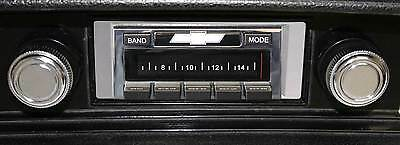 68-76 Nova NEW 300 watt USA 630 II AM FM Stereo Radio iPod USB Aux inputs