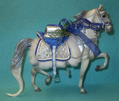 Breyer Traditional Pearlescent Grey Snow Princess #700106 Vgc 06 10Th In Series
