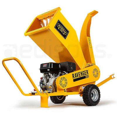 18HP Wood Chipper Mulcher Commercial Garden Shredder Mulch Tool Chip