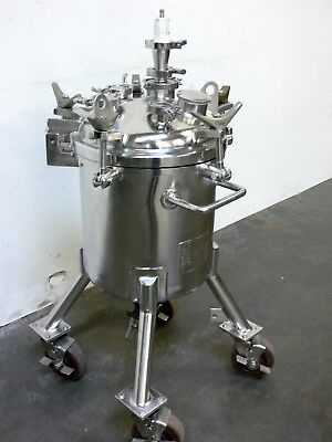 Precision 55 Liter 316L Stainless Steel Reactor w/ agitator no motor